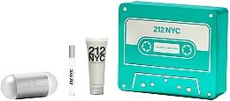 Parfumuri și produse cosmetice Carolina Herrera 212 NYC - Set (edt/100ml + edt/10ml + b/lot/75ml)