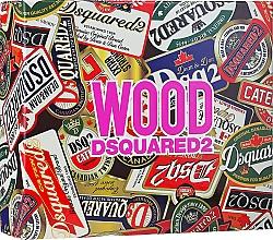 Духи, Парфюмерия, косметика Dsquared2 Wood Pour Femme - Набор (edt/50ml + sh/gel/50ml + b/lot/50ml)