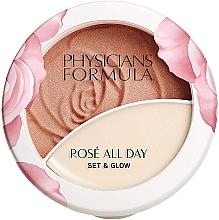 Parfumuri și produse cosmetice Pudră-balsam pentru față - Physicians Formula Rose All Day Set & Glow