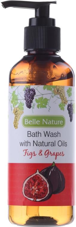 Gel de duș - Belle Nature Bath Wash Figs&Grapes
