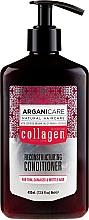 Parfumuri și produse cosmetice Balsam cu colagen pentru păr - Arganicare Collagen Reconstructuring Conditioner