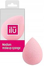 Parfumuri și produse cosmetice Burete pentru machiaj - Ilu Sponge Raindrop Medium Pink