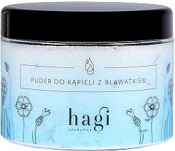 Parfumuri și produse cosmetice Pudră pentru baie cu albăstrele - Hagi Bath Puder