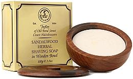 "Parfumuri și produse cosmetice Săpun de ras ""Lemn de santal"" - Taylor Of Old Bond Street Sandalwood Herbal Shaving Soap"