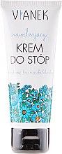 Parfumuri și produse cosmetice Crema hidratantă pentru picioare cu extract de musetel - Vianek Foot Cream