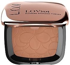 Parfumuri și produse cosmetice Bronzer pentru față - L.O.V Lovsun Blurring Bronzing Powder