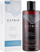 Parfumuri și produse cosmetice Șampon pentru întărirea părului pentru bărbați - Cutrin Bio+ Energy Boost Shampoo For Men