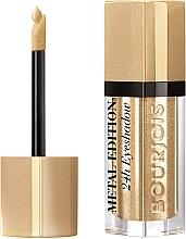 Parfumuri și produse cosmetice Fard de pleoape lichid - Bourjois Metal Edition 24H Eyeshadow