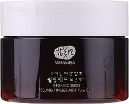 Духи, Парфюмерия, косметика Discuri pentru peeling facial - Whamisa Organic Seeds Peeling Finger Mitt Pore Care