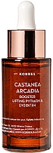 Parfumuri și produse cosmetice Ser facial antirid - Korres Castanea Arcadia Aufpolsternder Anti-Falten Booster