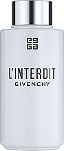Parfumuri și produse cosmetice Givenchy L'Interdit - Ulei de baie