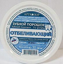 Parfumuri și produse cosmetice Praf de dinți cu efect de albire - Artkolor