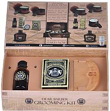 Parfumuri și produse cosmetice Set de îngrijire pentru barbă și mustață - Dear Barber Collection III Beard Grooming Set (oil/30ml + wax/25ml + comb/1 buc.)