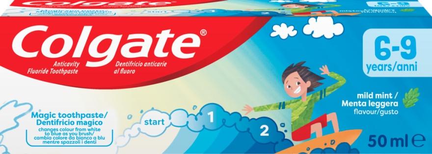 Pastă de dinți pentru copii 6-9 ani - Colgate Junior 6-9 Toothpaste