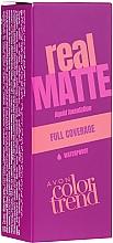 Parfumuri și produse cosmetice Fond de ten - Avon Real Matte Color Trend