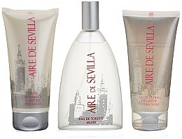 Parfumuri și produse cosmetice Instituto Espanol Aire de Sevilla - Set (edt/150ml + body/cr/150ml + sh/gel/150ml)