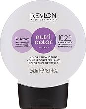 Parfumuri și produse cosmetice Cremă-balsam pentru tonarea părului, 240 ml - Revlon Professional Nutri Color Filters