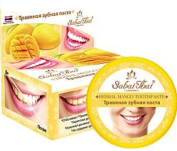 Parfumuri și produse cosmetice Pastă de dinți cu extract de mango - Sabai Thai Herbal Mango Toothpaste