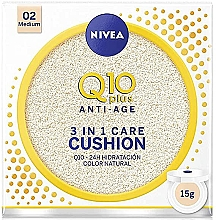 Parfumuri și produse cosmetice Tonal cushion - Nivea Q10 Plus Anti-Aging Radiance BB Cushion
