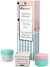 Parfumuri și produse cosmetice Set - Nacomi Home Spa (f/mask/50ml + f/lip/scr/80g + f/powder/20g)