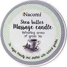 Parfumuri și produse cosmetice Lumânare și ulei pentru corp - Nacomi Shea Butter Massage Candle