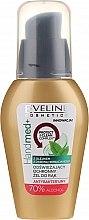 Parfumuri și produse cosmetice Gel antibacterian cu ulei de arbore de ceai, 70% alcool - Eveline Cosmetics Handmed+, 70% Alcohol