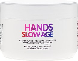 Parfumuri și produse cosmetice Mască pentru mâini, cu parafină - Farmona Hands Slow Age Brightening And Anti-ageing Paraffin Hand Mask