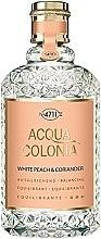 Parfumuri și produse cosmetice Maurer & Wirtz 4711 Acqua Colonia White Peach & Coriander - Apă de colonie