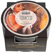 Parfumuri și produse cosmetice Lumânare parfumată - House of Glam Tobacco & Vanilla Candle (mini)