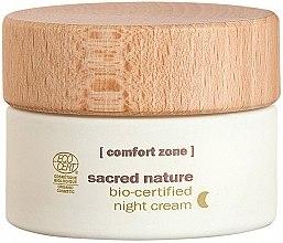 Parfumuri și produse cosmetice Cremă de noapte pentru față - Comfort Zone Sacred Nature Bio-Certified Night Cream