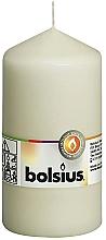 Parfumuri și produse cosmetice Lumânare cilindrică, cream, 130/68 mm - Bolsius Candle
