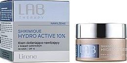 Parfumuri și produse cosmetice Cremă de zi pentru față - Lirene Lab Therapy Moisture Shikimique Hydro Active 10% Cream SPF15