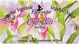 "Parfumuri și produse cosmetice Săpun natural ""Orhidee"" - Florinda Sapone Vegetale Vegetal Soap Orchid"