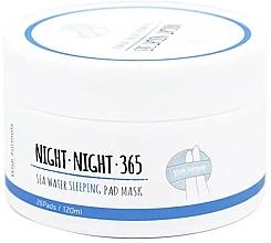 Духи, Парфюмерия, косметика Pad-uri de îngrijire nocturnă cu apă de mare și colagen - Wish Formula Night Night 365 Sea Water Sleeping Pad Mask
