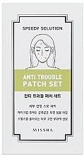 Parfumuri și produse cosmetice Plasturi pentru piele problematică - Missha Speedy Solution Anti Trouble Patch