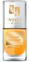 Parfumuri și produse cosmetice Top Coat - AA Wings of Color Color Top Coat