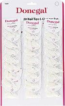 Parfumuri și produse cosmetice Set unghii false - Donegal Nail Tips & Glue