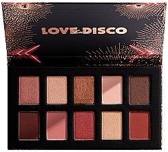 Parfumuri și produse cosmetice Farduri de ochi - Nyx Love Lust Disco Shadow Palette