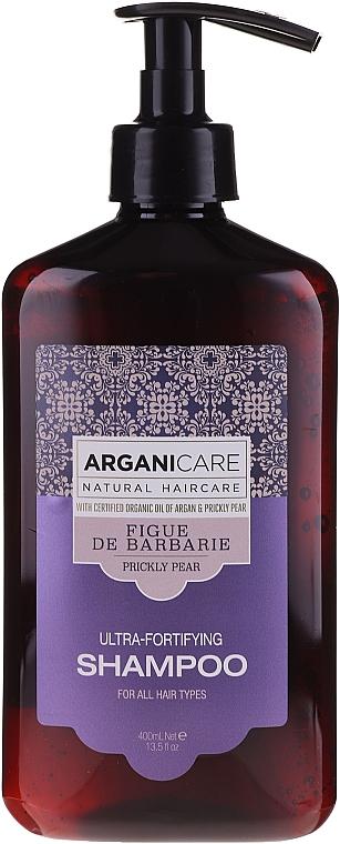 Șampon cu efect de întărire pentru păr - Arganicare Prickly Pear Shampoo