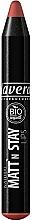 Parfumuri și produse cosmetice Ruj-creion de buze - Lavera Natural Matt'n Stay Lips