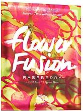 Parfumuri și produse cosmetice Mască din țesătură cu zmeură pentru față - Origins Flower Fusion Raspberry Refreshing Sheet Mask