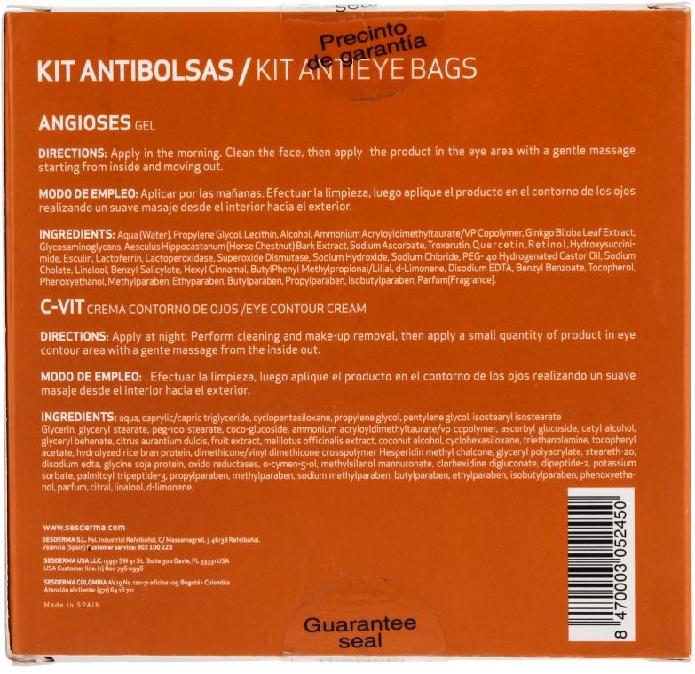 Set împotriva cearcănelor - SesDerma Laboratories Kit Antibolsas (gel/15ml + cream/15ml) — Imagine N2