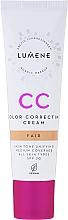 Parfumuri și produse cosmetice Fond de ten - Lumene CC Color Correcting Cream