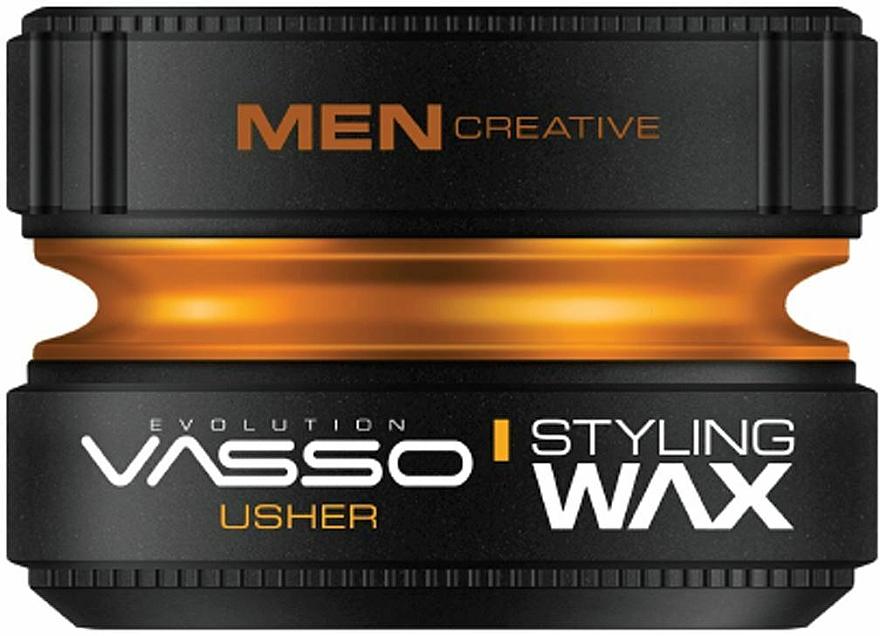 Воск для укладки волос - Vasso Professional Hair Styling Wax Usher — фото N1