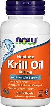 Parfumuri și produse cosmetice Ulei de krill, 500 mg - Now Foods Neptune Krill Oil Softgels