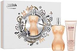 Parfumuri și produse cosmetice Jean Paul Gaultier Classique - Set (edt/100ml + b/lot/75ml)
