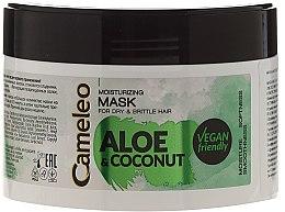 """Mască hidratantă pentru păr """"Aloe și cocos"""" - Delia Cosmetics Cameleo Aloe & Coconut Mask — Imagine N1"""