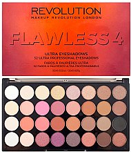 Parfumuri și produse cosmetice Paleta fard de ochi, 32 nuanțe - Makeup Revolution Ultra 32 Shade Palette Flawless 4