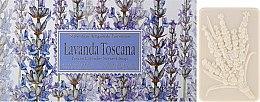 """Parfumuri și produse cosmetice Set săpunuri de toaletă """"Lavandă"""" - Saponificio Artigianale Fiorentino Lavender Toscana"""
