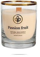 Parfumuri și produse cosmetice Lumânare aromată, 8x9.5 cm - Artman Passion Fruit